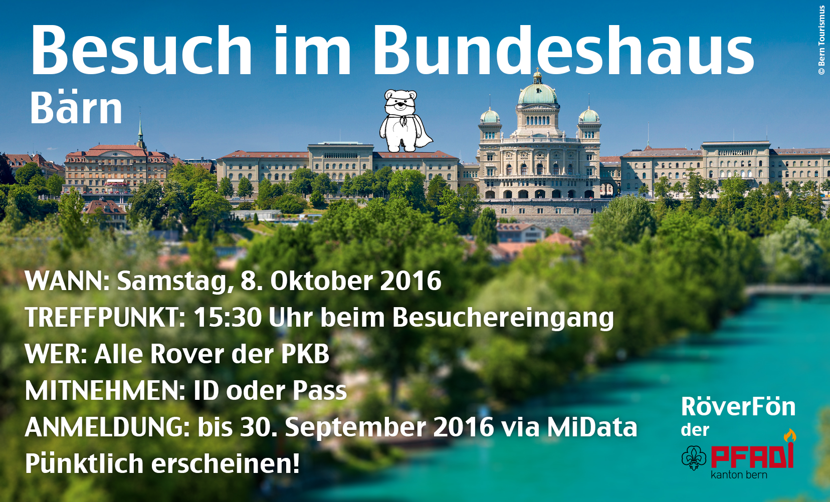Flyer Bundeshaus